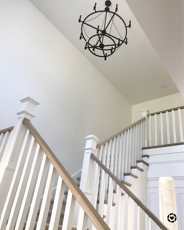 two story foyer chandelier